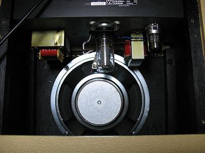 Greco GVA Customスピーカー、真空管