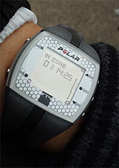 Polar (ポラール) FT4/ゾーン内(115~140)のトレーニング時間