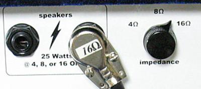 4,8,16Ωに対応したZinky Blue Velvetのスピーカーアウト