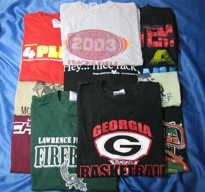 アメリカ直輸入のユーズドTシャツ