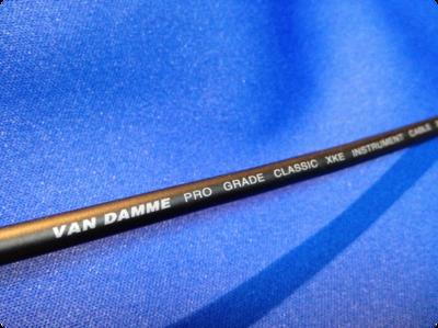 VAN DAMME社製ケーブル