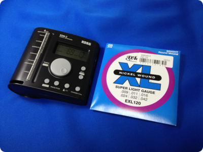 02_KORG ( コルグ ) のメトロノーム、KDM-2を購入しました