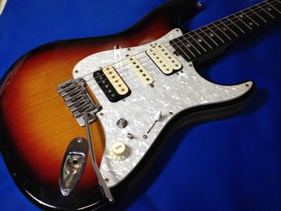 SSHのギターをちょっとスペシャルな配線のHSHにしちゃったよ Crews Maniac Sound Bottom's UP
