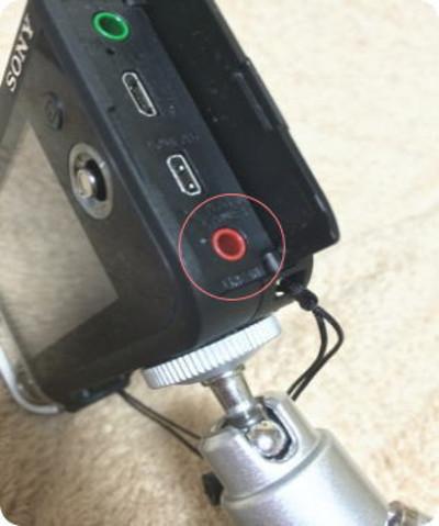SONY ( ソニー )/ HDR-MV1外部入力端子