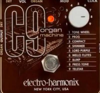 ELECTRO-HARMONIX C9のプリセット