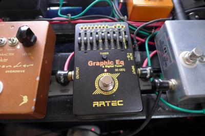 チューナー搭載のグラフィックイコライザー ARTEC ( アーテック ) / SE-GEQ