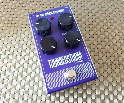 TC ELECTRONICの激安フランジャー Thunderstorm Flanger買っちゃいました