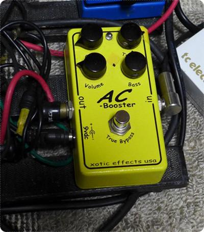 ストラトキャスターでクランチサウンドを作るなら Xotic ACブースター