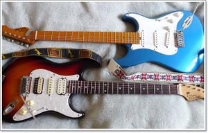 最近よく弾くギターのCrews(クルーズ)のBottom's UP