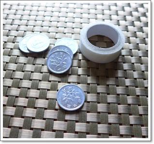 1円玉を貼るだけで腰痛改善?