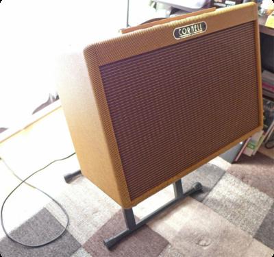[ギターアンプ] マグネットの小さなスピーカーで低域の調整
