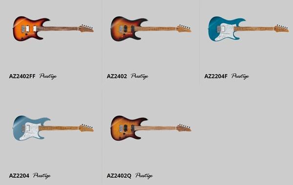 Ibanezアイバニーズが本気で作ったギター AZシリーズ