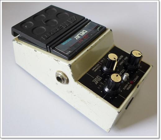80年代の名機 MAXON DD-01デジタルディレイ