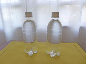 【 実験 】 ペットボトルに入れた水素水はそんなに簡単に抜けてしまうのか??
