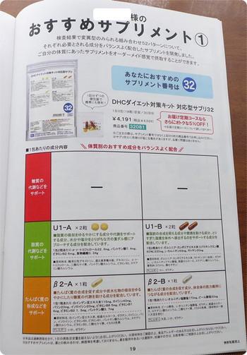ダイエット対策キットに対応したサプリ