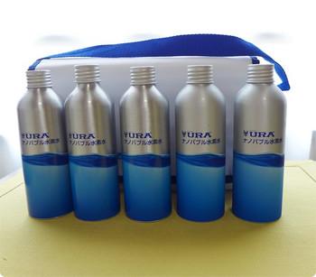 URAナノバブル水素水 アルミボトルセット をリピ