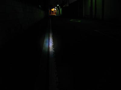 TOPEAK トピークのヘッドライトに比べ暗いので走行はかなり恐いです
