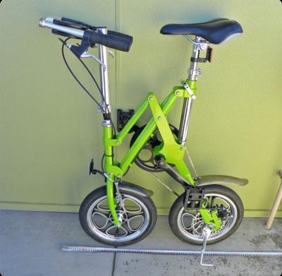 折りたたみ自転車は意外と折りたたまない・・・ということに気づいてから見つけた折りたたみ自転車