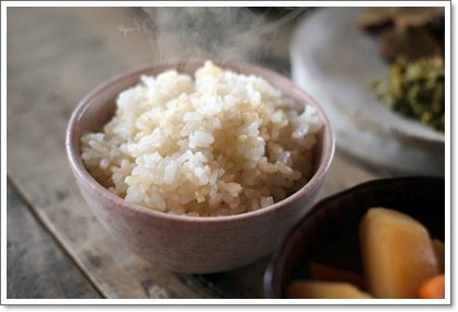 ダイエットには玄米