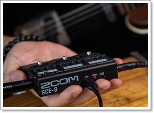 手のひらサイズのオーディオインターフェイス ZOOM GCE-3