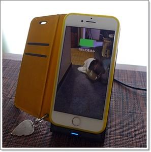 iPhone8とワイヤレス充電器