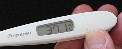舌下での体温