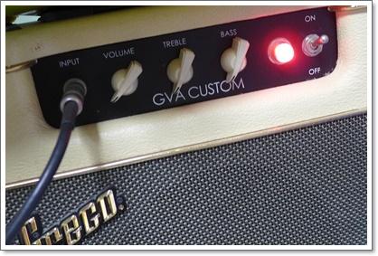 GRECO GVA パワー管交換 備忘録