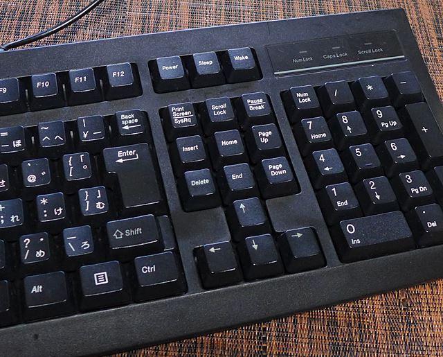 ドスパラのキーボード