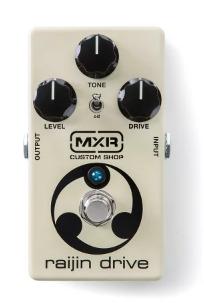 MXR RAIJIN DRIVEはオーバードライブ/ディストーションの2in1ペダル