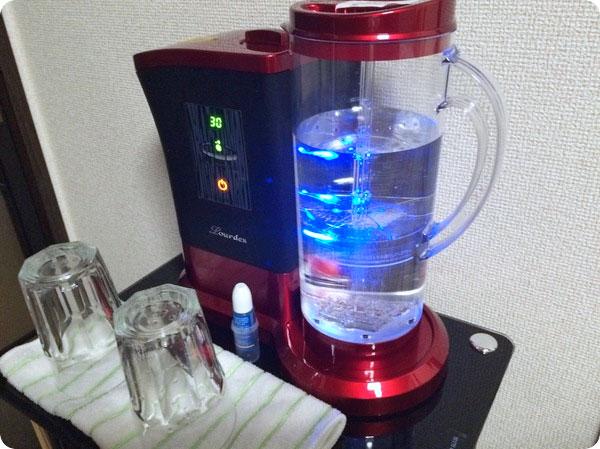水素水生成器ルルド