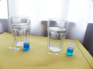【6時間後】ルルドと水素水7.0の水素濃度をコップに注いで時間毎に測ってみた6