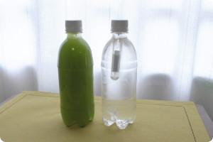 今日は高濃度の水素水7.0で風邪退治